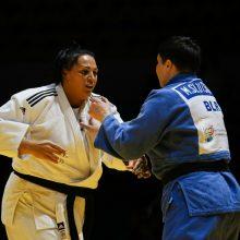 Dziudo kovotoja S. Jablonskytė be medalio, bet arčiau Tokijo