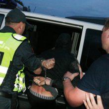 Vilniuje blaivumą atsisakęs tikrintis vyras sudavė policininkui