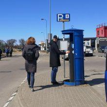 Parkavimas pajūryje jau mokamas: įsigalioja ir nauja automobilių statymo tvarka