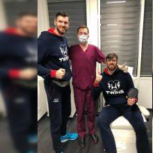 Po varžybų K. Lavrinovičiui prireikė medikų pagalbos: skubiai vyko į Kauną