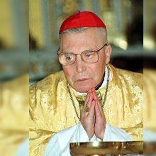 Seimui bus pasiūlyta 2021-uosius paskelbti kardinolo V. Sladkevičiaus metais
