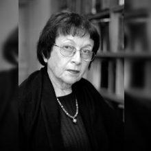 Mirė koronavirusu sirgusi teatrologė I. Veisaitė