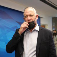 Izraelio gynybos ministras ir palestiniečių prezidentas surengė retas derybas
