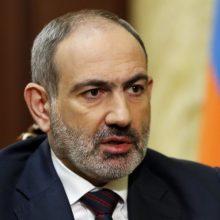 Armėnijos parlamentas bus paleidžiamas: antrąkart neišrinko premjeru N. Pašiniano