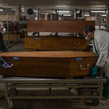 Brazilijoje – naujas paros aukų skaičiaus rekordas nuo COVID-19 protrūkio pradžios
