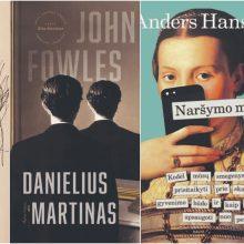 Knygų apžvalga: nuo meilės romanų ir plieninių melodramų iki grafinių poemų