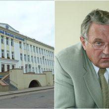 Kyšininkavimu kaltintam Šiaulių ligoninės vadovui – lygtinė bausmė