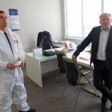 Kovoje su koronavirusu Kauno rajone – pagalbos ranką ištiesė verslininkai