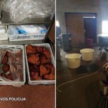 Neramumai Panevėžio mėsos perdirbimo įmonėje: rado maisto tvarkymo pažeidimų, įtaria sukčiavus