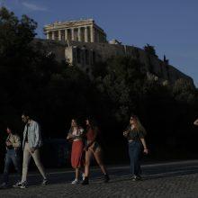 Atėnų Akropolis vėl atidarytas lankytojams