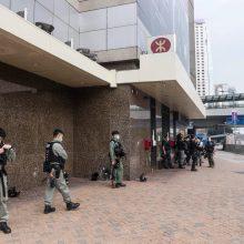 Honkonge policija malšino vėl atsinaujinusius protestus