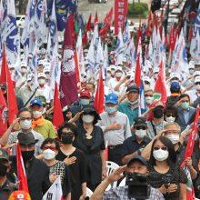 Šiaurės ir Pietų Korėjos mini 70-ąsias Korėjos karo metines