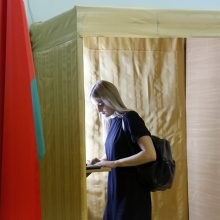 Baltarusijos prezidento rinkimuose jau balsavo per 50 proc. rinkėjų