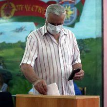 Baltarusijoje prasidėjo balsavimas prezidento rinkimuose