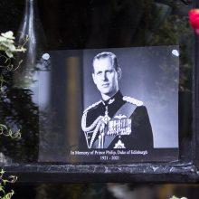 Pagerbdami mirusį princą Philipą abu anūkai pasidalijo mintimis apie senelį