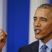 Buvęs JAV prezidentas B. Obama švenčia jubiliejų