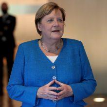 Nauja kanclerės apranga: A. Merkel su žygeivės kostiumu Madam Tiuso muziejuje