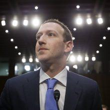 """M. Zuckerbergas: po 10 metų pusė """"Facebook"""" darbuotojų dirbs nuotoliniu būdu"""