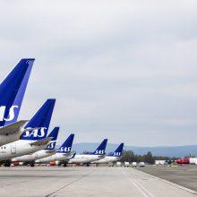 Oro linijos SAS birželį atnaujins skrydžius į dar 20 Europos miestų