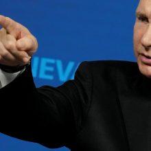 V. Putinas: A. Navalnas žinojo, kad pažeidžia Rusijoje galiojantį įstatymą
