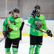 """Pergalė derbyje leido """"Kaunas Hockey"""" pakilti į pirmąją vietą"""