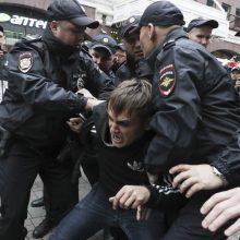 Maskvos merija neišdavė leidimo eitynėms už sąžiningus rinkimus