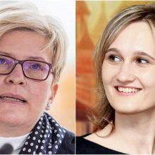 I. Šimonytė: V. Čmilytė-Nielsen turi savybių, kurios yra svarbios Seimo primininkui