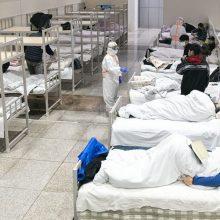 Japonijos ekspertai: koronaviruso plitimas gali trukti daugiau kaip metus