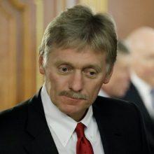 Kremlius: V. Putino ir J. Bideno skirtingas požiūris į padėtį Baltarusijoje ir NATO išliko