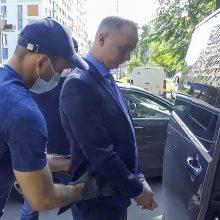 """Rusijoje dėl kaltinimų valstybės išdavyste sulaikytas """"Roskosmos"""" vadovo patarėjas"""