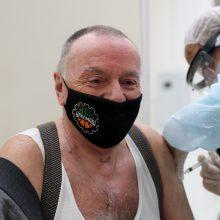 Rusijoje nuo COVID-19 paskiepyta per 8 mln. žmonių