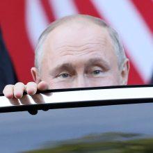 V. Putinas: Rusija neprisiims papildomų įsipareigojimų dėl Ukrainos