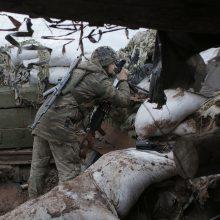 Ukrainos Rytuose žuvo dar du šalies kariai