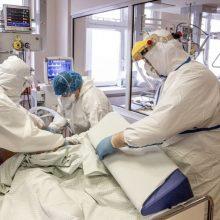 Ligoninėse gydomas 91 COVID-19 pacientas, vienuolika iš jų – reanimacijoje