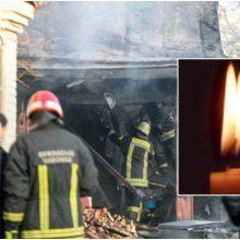 Per gaisrą Panevėžio rajone žuvo žmogus: numanoma priežastis – neatsargus rūkymas