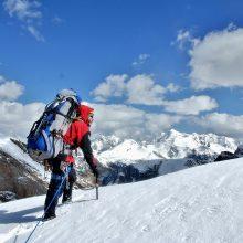Alpinistas atskleidė, kodėl neitų į žygį be išmaniųjų technologijų