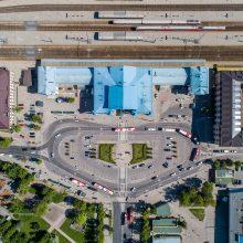 Naujam Vilniaus stoties teritorijos įvaizdžiui sukurti – pasaulio architektų pasiūlymai