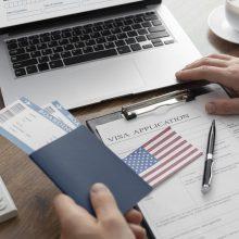 Neišsprendus ginčo dėl vizų, JAV ambasada Maskvoje gali sustabdyti darbą