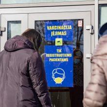 Per dvi šventines Velykų dienas Vilniuje paskiepyta per 6 tūkst. gyventojų
