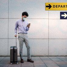 JK valdžia gali pratęsti tarptautinių kelionių draudimą bent iki rugpjūčio