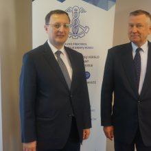 Turkijos ambasadoriaus vizitas