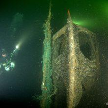 Bus pristatyti naujausi Baltijos jūroje paskendusių laivų tyrimai