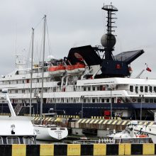 Klaipėdos uoste baigiasi kruizinės laivybos sezonas