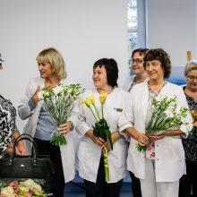 Uostamiesčio vaikų gydytojos tapo senjorėmis