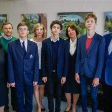 Klaipėdos licėjaus mokiniai Lietuvai atstovaus Katare