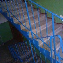 Eismas ant laiptų