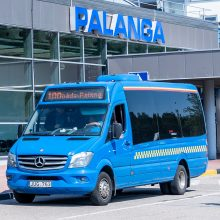 Kelionė 100-ojo numerio autobusu:  patogus būdas pasiekti Palangos oro vartus