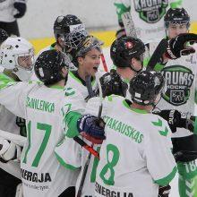 """""""Kaunas Hockey"""" prarado tašką rungtynėse su autsaideriais"""