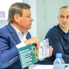 LKF prezidento posto sieksiantis V. Gedvilas: konkurencijos nebijome
