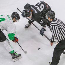 """Kauno derbis: įvarčių kruša ir """"Kaunas Hockey"""" pergalė"""